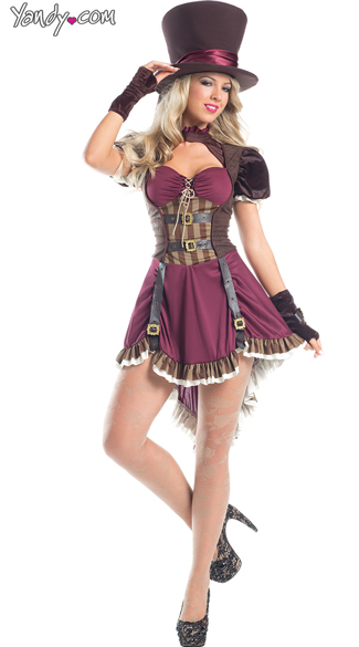 Steam Punk Mad Hatter Costume