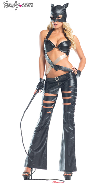 Sexy Feline Costume, Seductive Cat Costumes, Flirty Cat Outfits