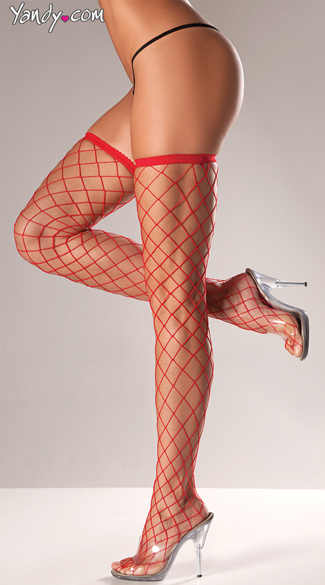 Industrial Net Thigh Highs