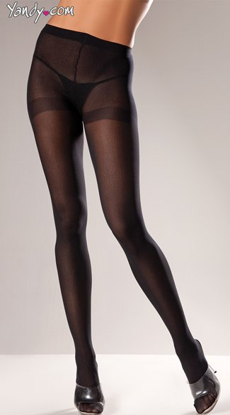 Nylon Opaque Tights, Sexy Black Stockings, Nylon Black Pantyhose