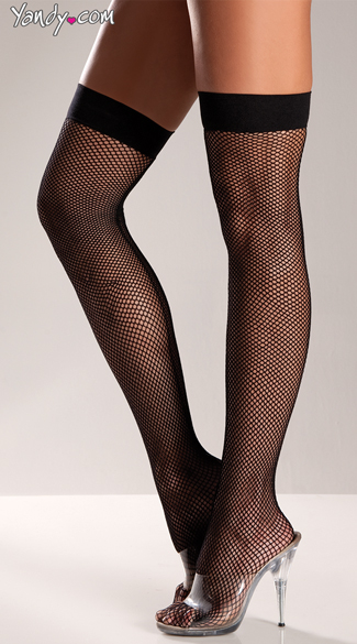 Sexy Fishnet Thigh Highs