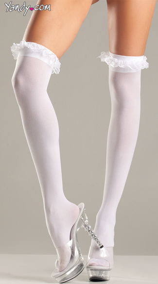 Plus Size Princess Thigh Highs