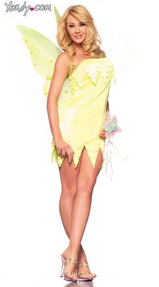 Sexy Belle Costume, Tinker Bell Costume, Tinker Bell Halloween Costume