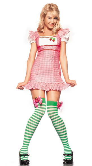 Strawberry Cake Sweetie Costume, Strawberry Shortcake Halloween Costume