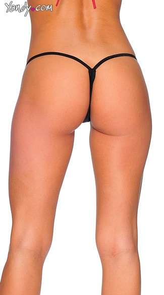 Lycra G-String with Honeycomb Front