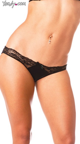 Lace Front Panty
