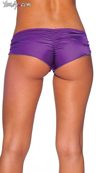 Scrunch Side Shorts