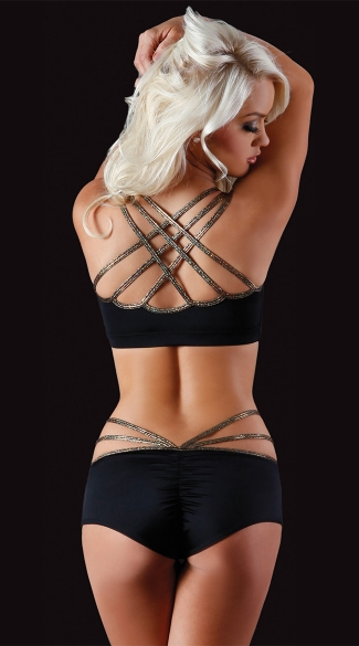 Barbed Wire Web Back Top