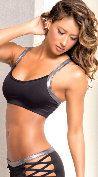 Iron Criss-Cross Sports Bra