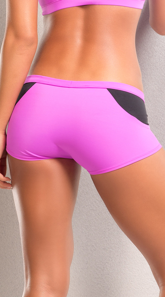 Neon Stretchy Shorts