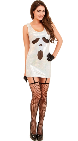 Sexy Scream Costume, Ghost Dress Costume, Sexy Ghost Costume
