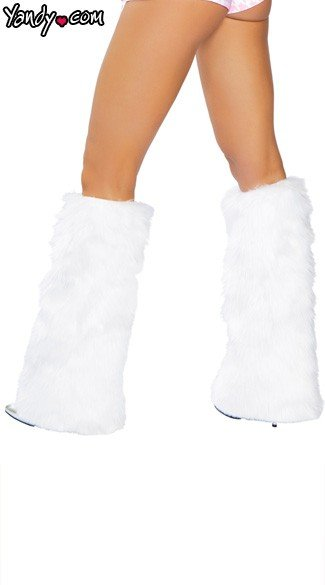 Faux Fur Leg Warmers, Faux Fur Boot Covers, Furry Leg Warmers