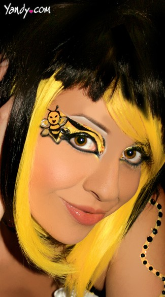 Bumble Bee Eyes