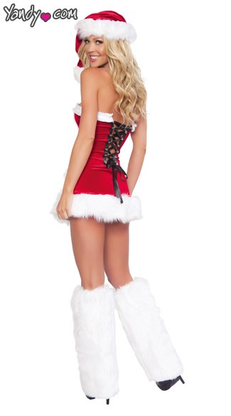 Naughty Santa Mini Dress