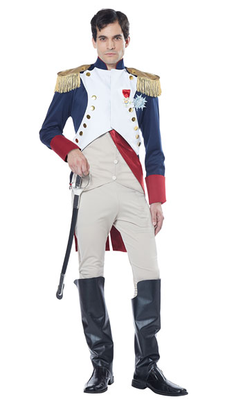 French Emperor Napoleon Costume, Men's Emperor Costume ...