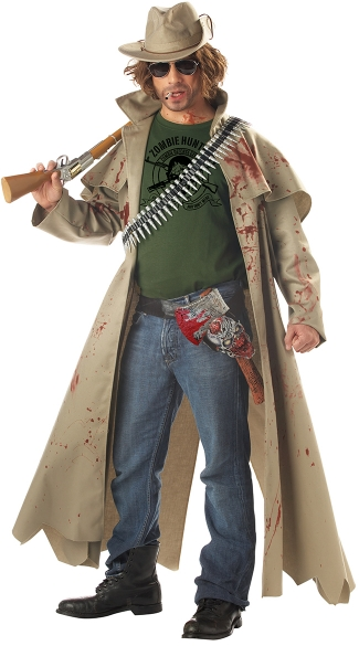 Men\'s Zombie Hunter Costume