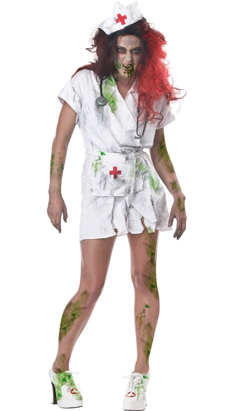 Adult Nurse Halloween Costume