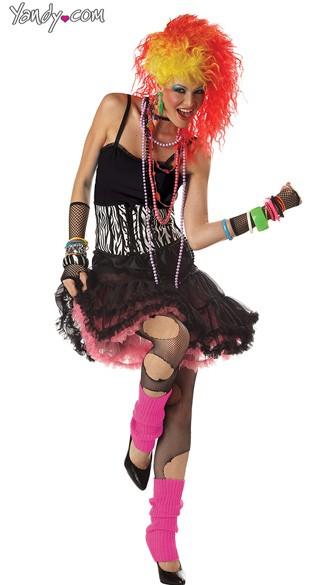 Cyndi lauper costume clothing patches