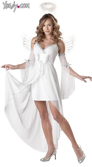 heavens angel costume angel wings costume angel halloween costume - Halloween Costumes Angel Wings