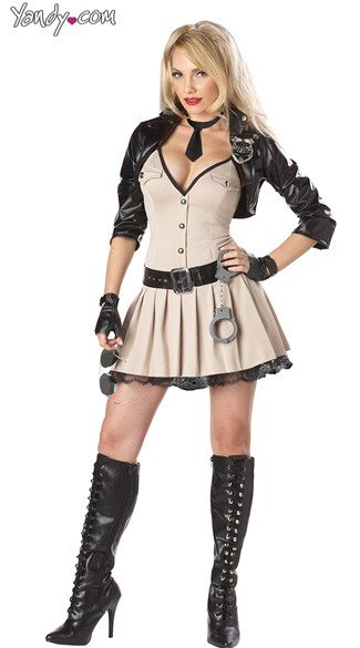 Highway Hottie Costume
