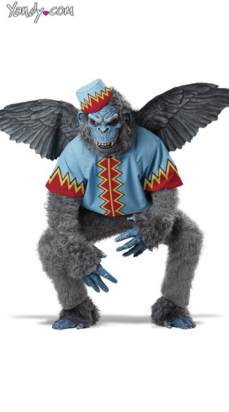 Men\'s Evil Winged Monkey Costume