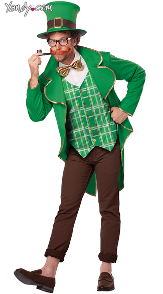 Men\'s Lucky Leprechaun Costume