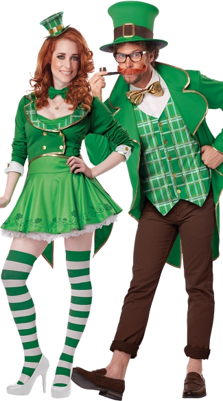 Sexy Lucky Charm Costume, Sexy Leprechaun Costume, Sexy St. Patrick\'s Day Costume, Men\'s Lucky Leprechaun Costume, Leprechaun Costume, St. Patrick\'s Day Costume