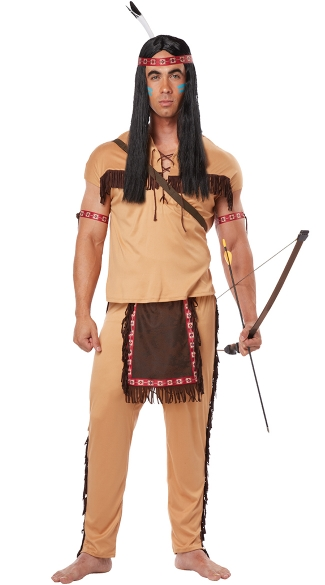 Men\'s Native American Brave Costume
