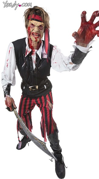 Cutthroat Pirate Costume