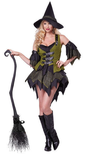 Plus Size Hocus Pocus Babe Costume, Plus Size Witches Halloween Costume, Plus Size Witch Hat Costume