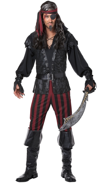 Men\'s Ruthless Rogue Costume