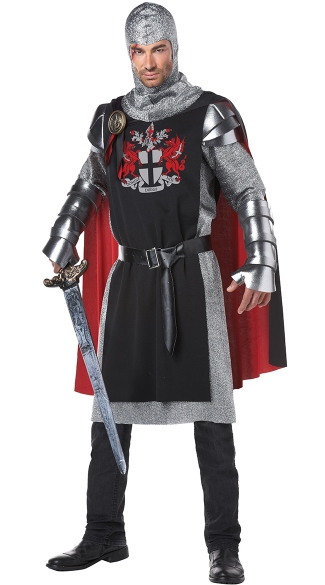 Men\'s Medieval Knight Costume