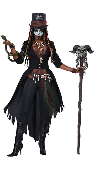 Voodoo Magic Costume, Witchy Wonder Costume - Yandy.com