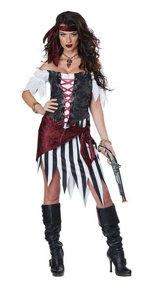 Pirate Beauty Costume, Rowdy Wench Costume - Yandy.com