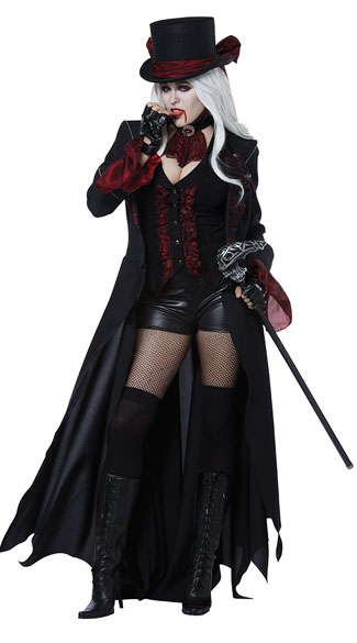 Dressed To Kill Costume, Voluptuous Vampire Costume -Yandy.com