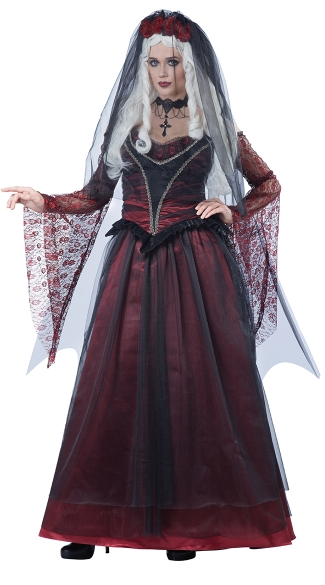 Immortal Vampire Bride Costume
