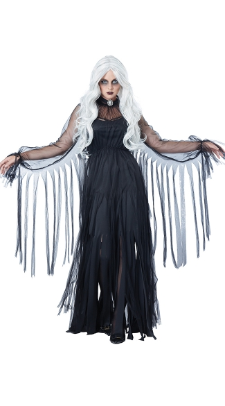 Vengeful Spirit Costume , Witch Costume. Scary Witch Costume