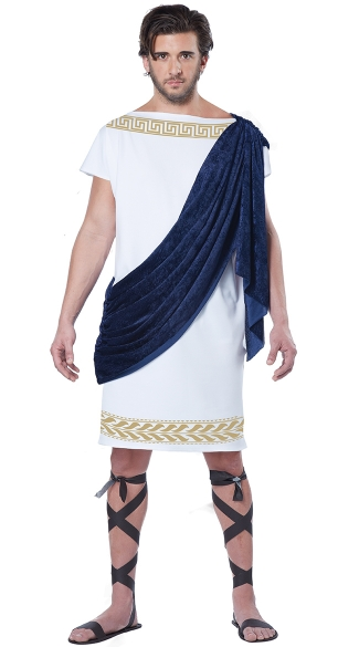 Men\'s Grecian Toga Costume, Men\'s Roman Costume, Men\'s Greek Costume