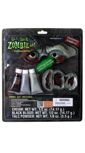 Graveyard Zombie Kit, Zombie Kit, Zombie Make Up