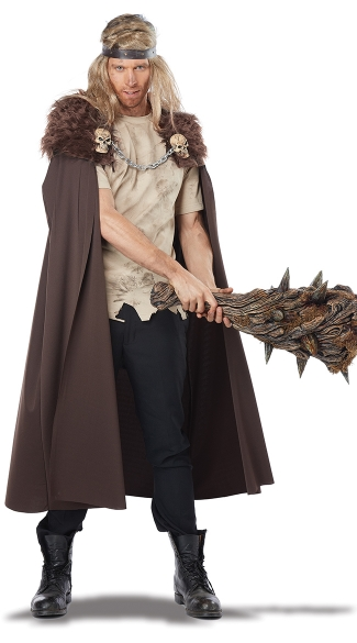 Men\'s Warlord Cape Costume, Men\'s Cape Costume Men\'s Viking Costume