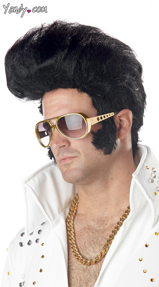 Rock N\' Roll Elvis Wig
