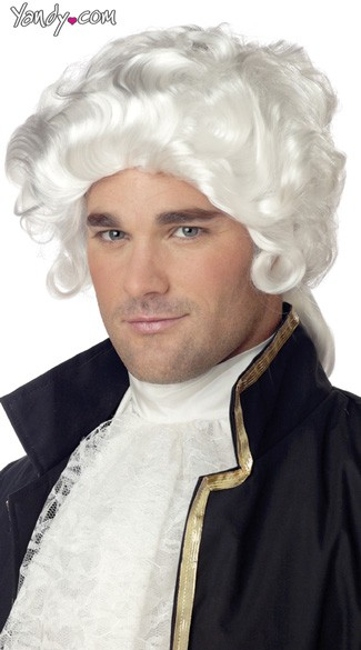 Colonial Wig, George Washington Wig