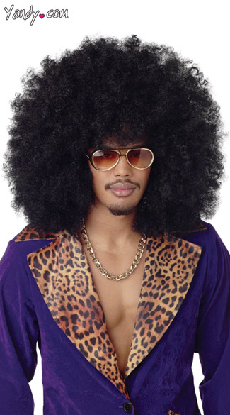 Super Jumbo Afro Wig, Mens Extra Large Afro Wig