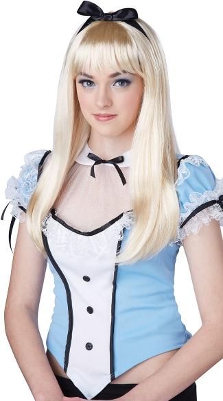 Wonderland Wig, Alice Wig, Alice in Wonderland Wig