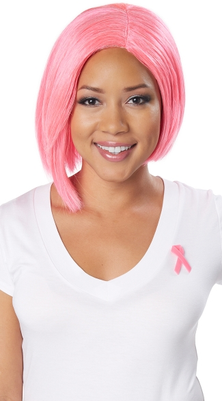 Breast Cancer Awareness Month Wig Makeover - Wigs