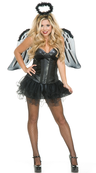Bad Angel Accessory Kit, Black Angel Costume, Angel Costume Ideas