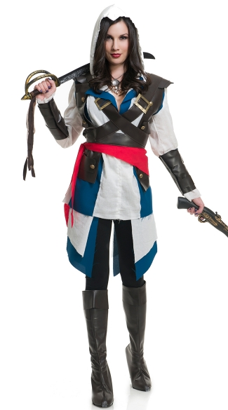 Cutthroat Pirate Girl Costume