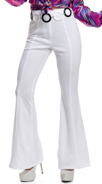 70\'s Women\'s Disco Pants, 70s Costume, High Waisted Pants