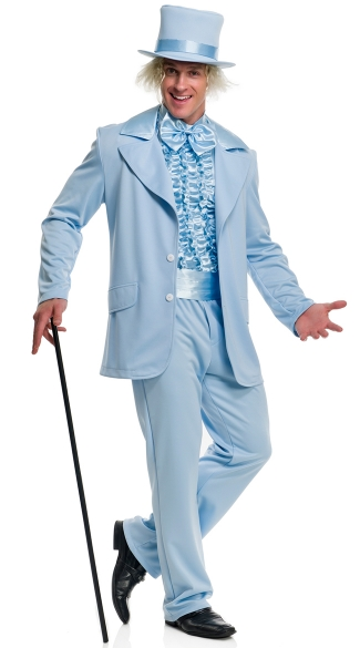 Men\'s Funny Tuxedo Costume, Mens Colorful Tux Costume