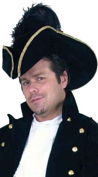 Suede Pirate Hat
